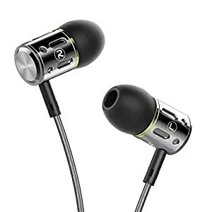 AILIHEN M9 Metal in Ear Headphones with Microphone Noise Isolating Earbuds for iPhone iPad iPod Android Smartphones Tablets Laptop Computer