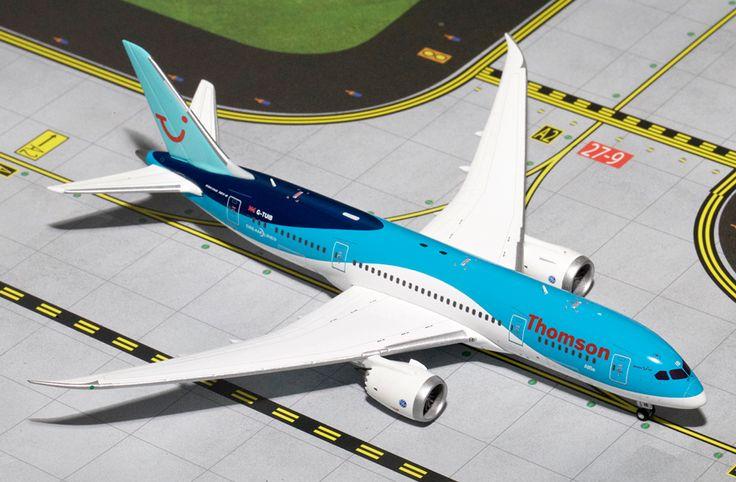 1/400 GeminiJets Thomson Airways Boeing 787-8 Dreamliner Diecast Model