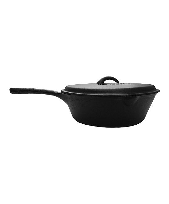 Old Mountain 5-Qt. Tack Shop Cast Iron Deep Fry Skillet | zulily