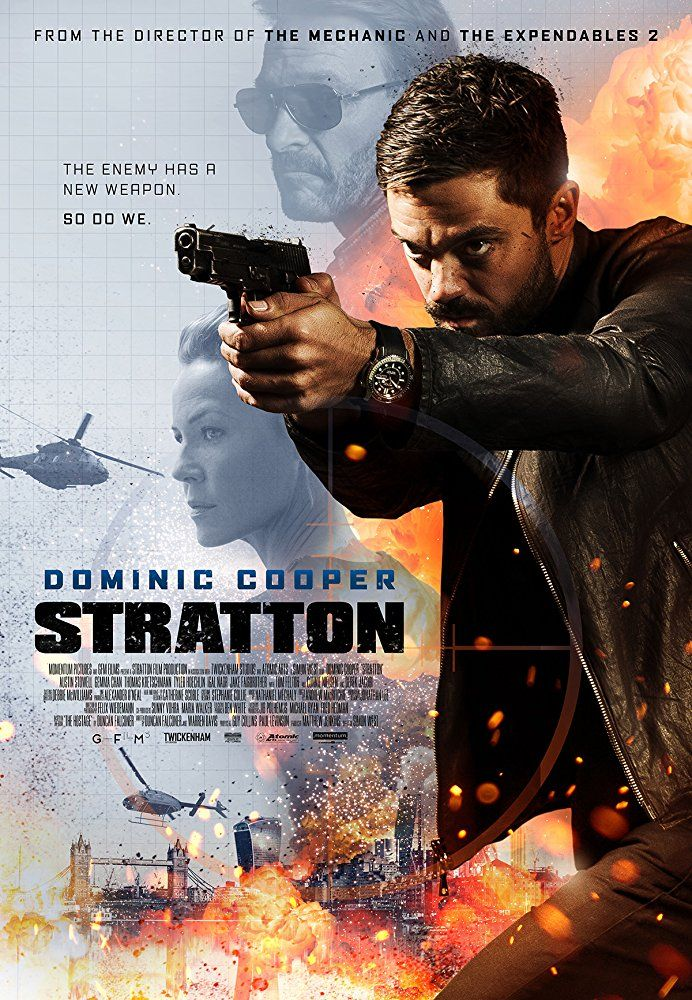 Stratton - new movie poster: https://teaser-trailer.com/movie/stratton/  #Stratton #StrattonMovie #DominicCooper #MoviePoster