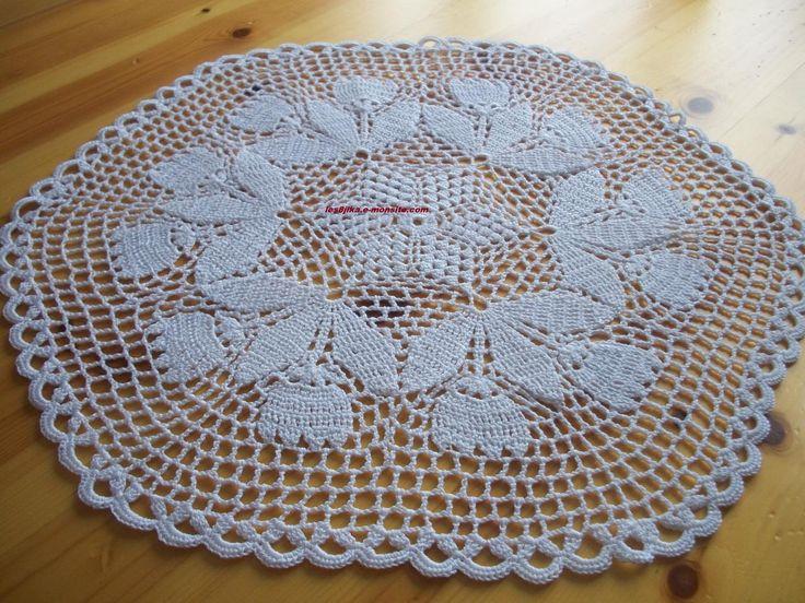 site de crochet et napperons ronds et grilles gratuites,créations, crochet,fait main