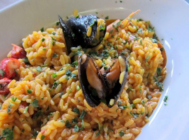 Risotto alla marinara – ricette di Sardegna,
