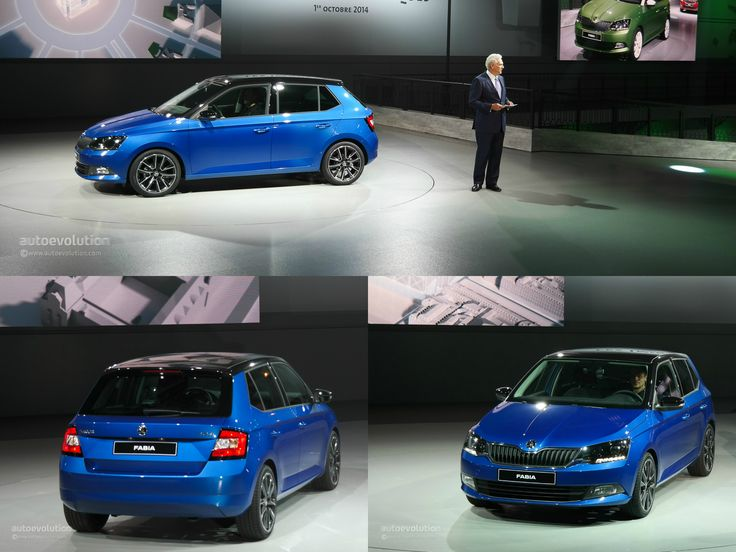 New Skoda Fabia Displayed at the Paris Motor Show in Hatchback and Estate Guise [Live Photos] http://www.autoevolution.com/news/new-skoda-fabia-displayed-at-the-paris-motor-show-in-hatchback-and-estate-guise-live-photos-87230.html