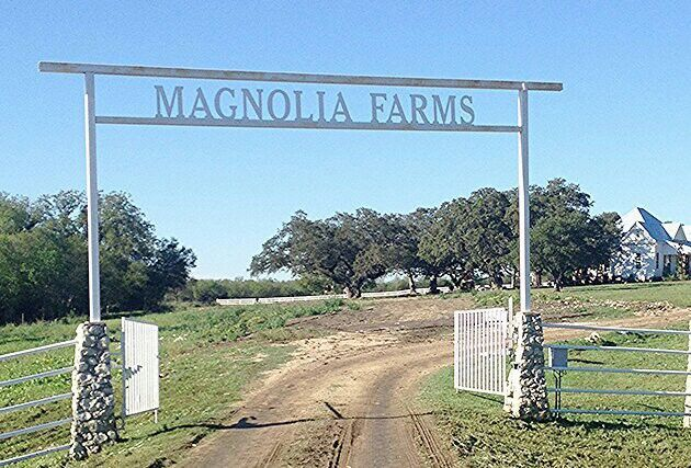 magnolia farm iron gate