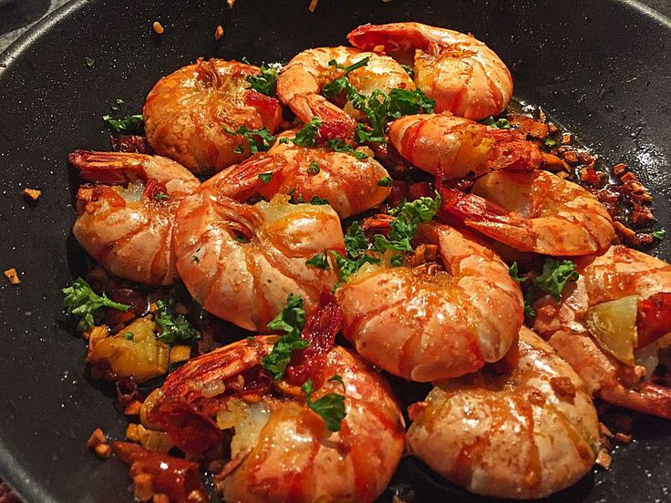 Knoblauch - Garnelen, ein schmackhaftes Rezept aus der Kategorie Warm. Bewertungen: 162. Durchschnitt: Ø 4,7.