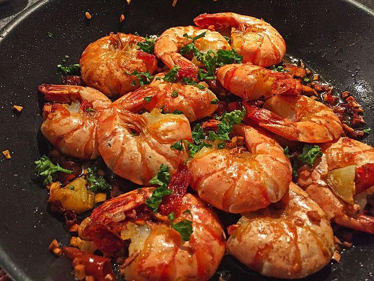 Knoblauch - Garnelen, ein schmackhaftes Rezept aus der Kategorie Warm. Bewertungen: 161. Durchschnitt: Ø 4,7.