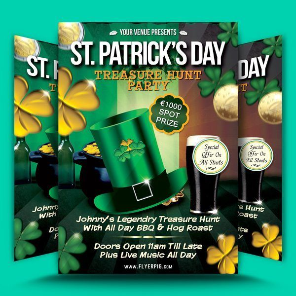 St. Patrick's Day Flyer Template 5