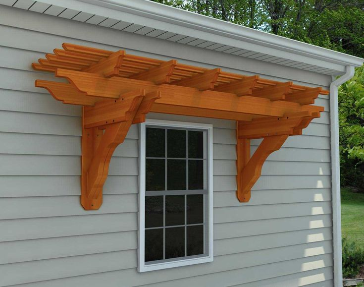 Customize Your X Rough Cut Cedar Eyebrow Breeze Pergola And Submit For A Shipping Quote Today