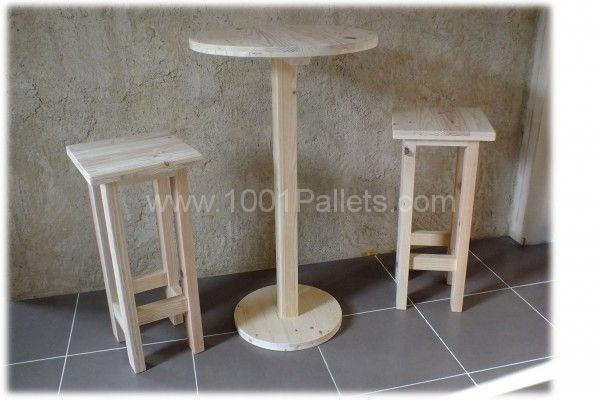 Best 25 bar table and stools ideas on pinterest basement living rooms sma - Ensemble table haute et tabouret ...