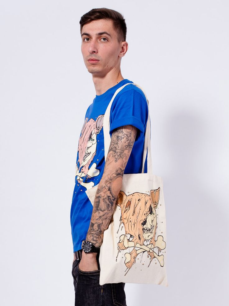 "CUIK X PORC – ""Dead Pirate"" Ltd. Tote Bag"