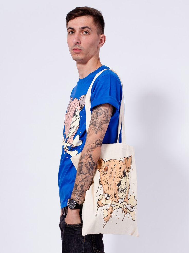 "CUIK X PORC – ""Dead Pirate"" Ltd. Tote Bag"