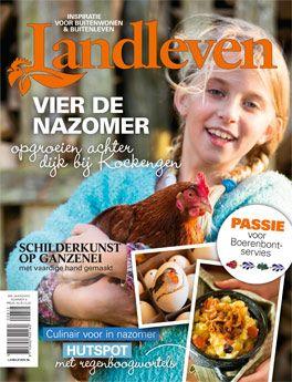 Cover van Landleven 8 (oktober) 2015: Vier de Nazomer!