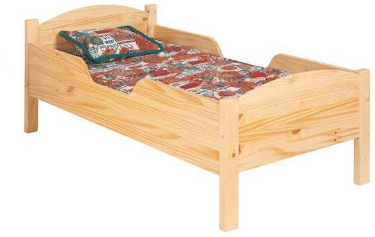 Found it at Wayfair - Traditional Toddler Bed
