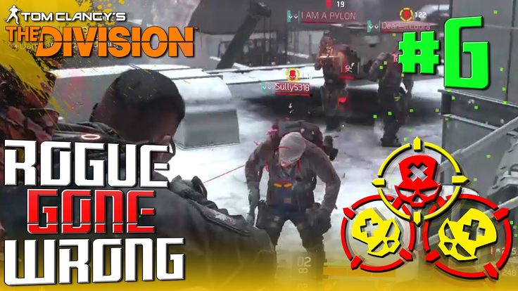 "The Division: Rogue Gone Wrong Epic ""Manhunt Battle"" - [DARK ZONE] PvP ""..."