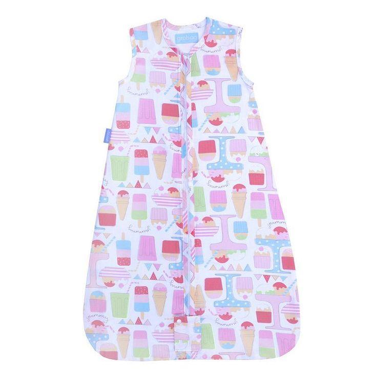 The Gro Company 1.0 TOG Travel Grobag Baby Sleep Bag - Newborn, Infant Unisex, Size: 0-6 Months, Pink