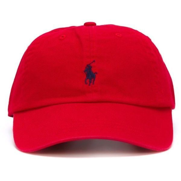 961af2a7f70 Polo Ralph Lauren Cotton Baseball Cap ( 53) ❤ liked on Polyvore featuring  men s fashion