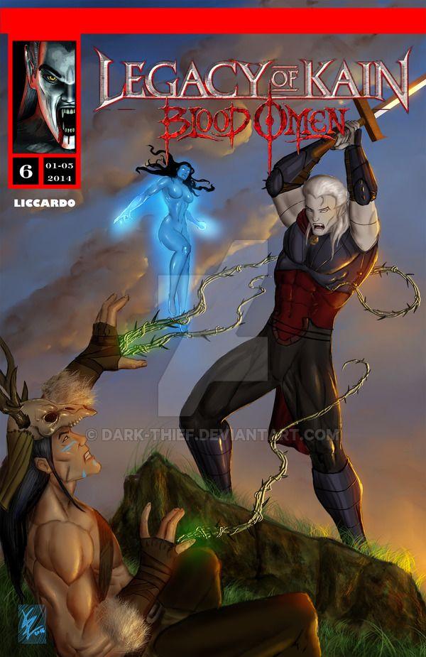 Legacy of kain Blood omen comics issue 6 ITA/ENG by Dark-thief.deviantart.com on @DeviantArt