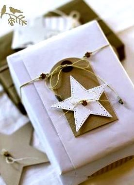 #Christmas gift #wrapping ideas
