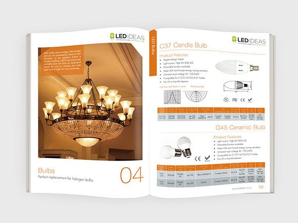 LED Product Catalogue on Behance