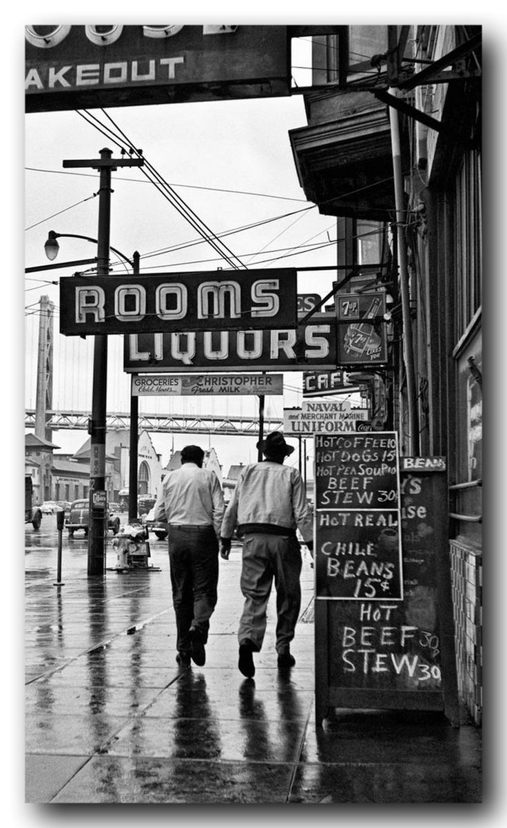 Different times, different prices ca1950 San Francisco