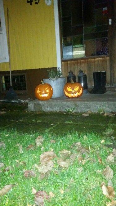 My first pumpkin- carving!