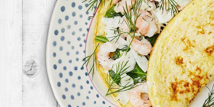 Omelett med räkröra – den perfekta matsäcken!