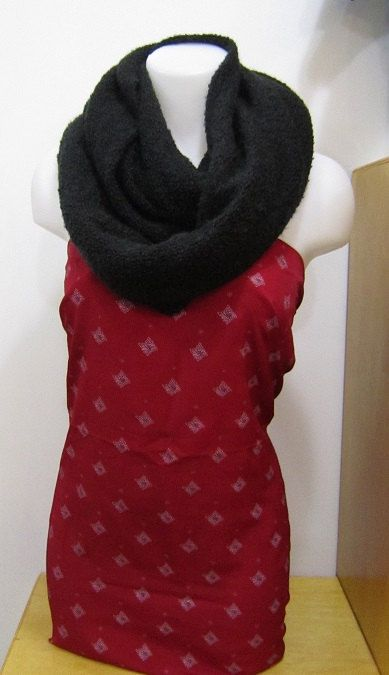 Handmade Soft Infinity Scarf In Black by EarthyEcoStyle on Etsy, $30.00