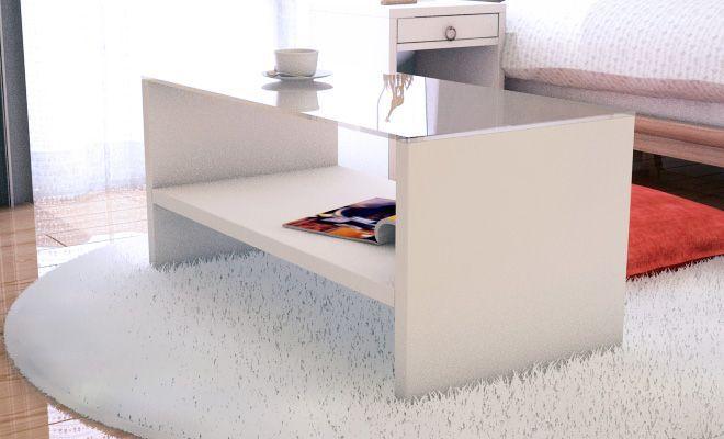 清潔感が嬉しいシンプルなガーリースタイルインテリア - インテリアハート シンプルなガラステーブルで清潔感も