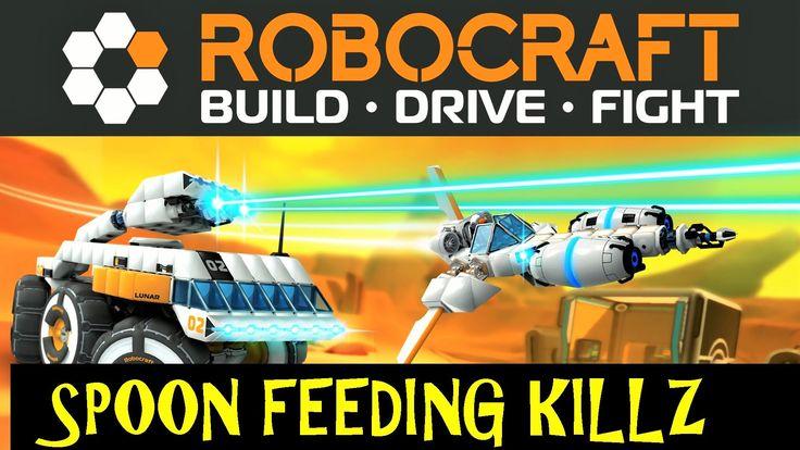 Robocraft, Spoon Feeding Kills! Back in business