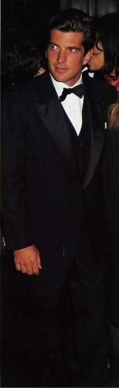 JFK Jr. An incredibly handsome man. Another Kennedy gone too soon and in tragic circumstances.