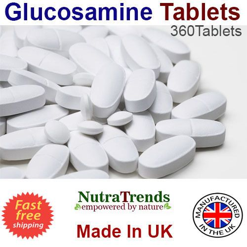 Glucosamine Sulphate ,Chondroitin, MSM,Vitamin C Complex Joint Care  360 Tablets #Nutratrends
