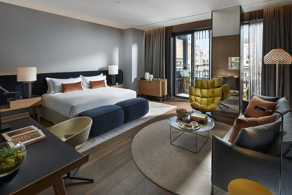 Patricia Urquiola añade color en las nuevas suites del hotel Mandarin Oriental Barcelona. | diariodesign.com