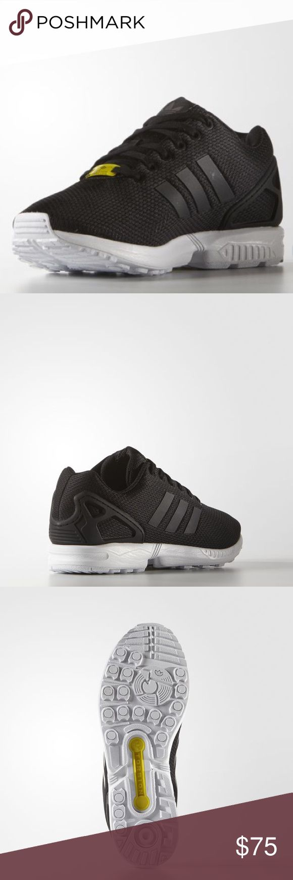 adidas ZX Flux Black White Men's size 13. New with box. Style M19840 adidas Shoes Sneakers