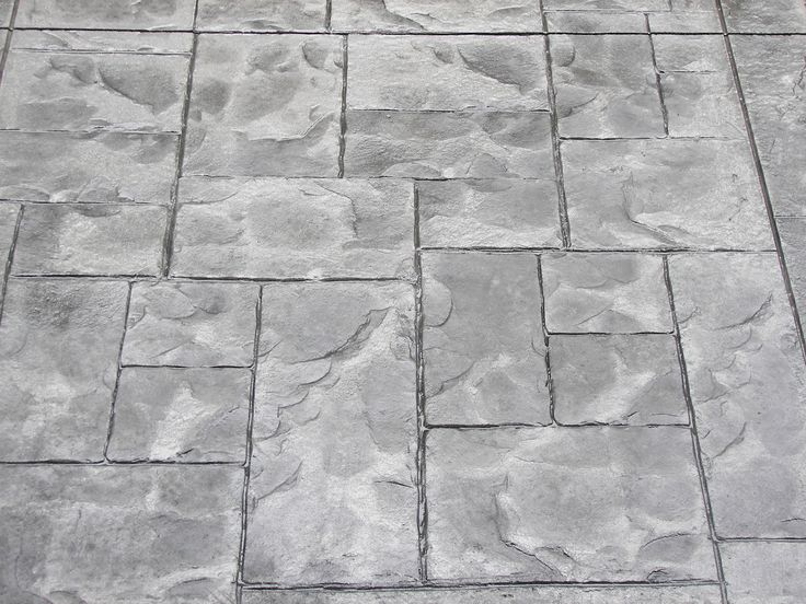 Cement Stamping Patterns Concrete Patterns Decorative