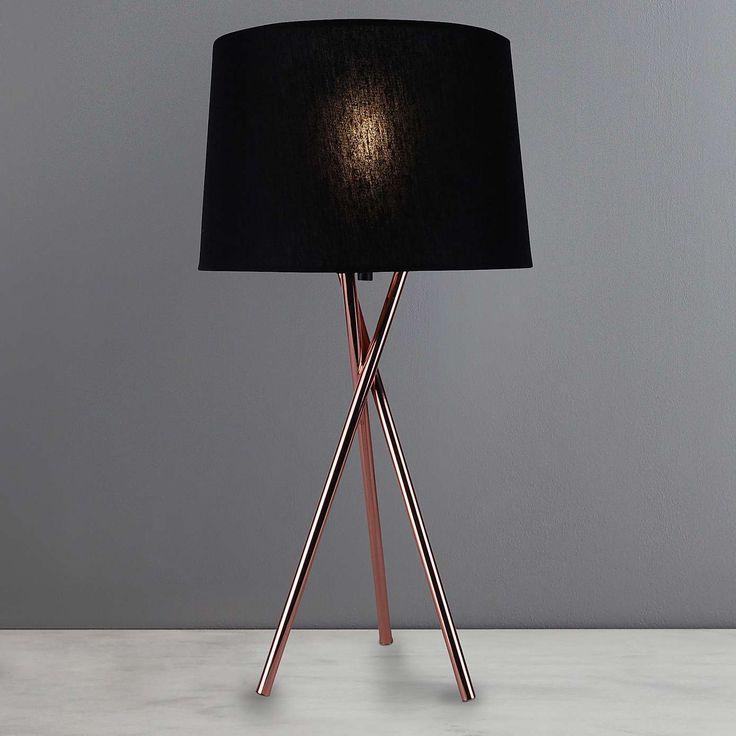 Albert Tripod Table Lamp    Dunelm
