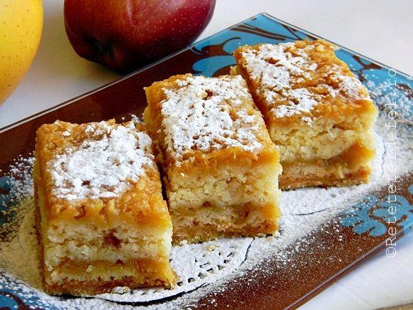 Prajitura cu mere de post, reteta simpla, cu ingrediente la indemana tuturor. O prajitura gustoasa si foarte usor de preparat.