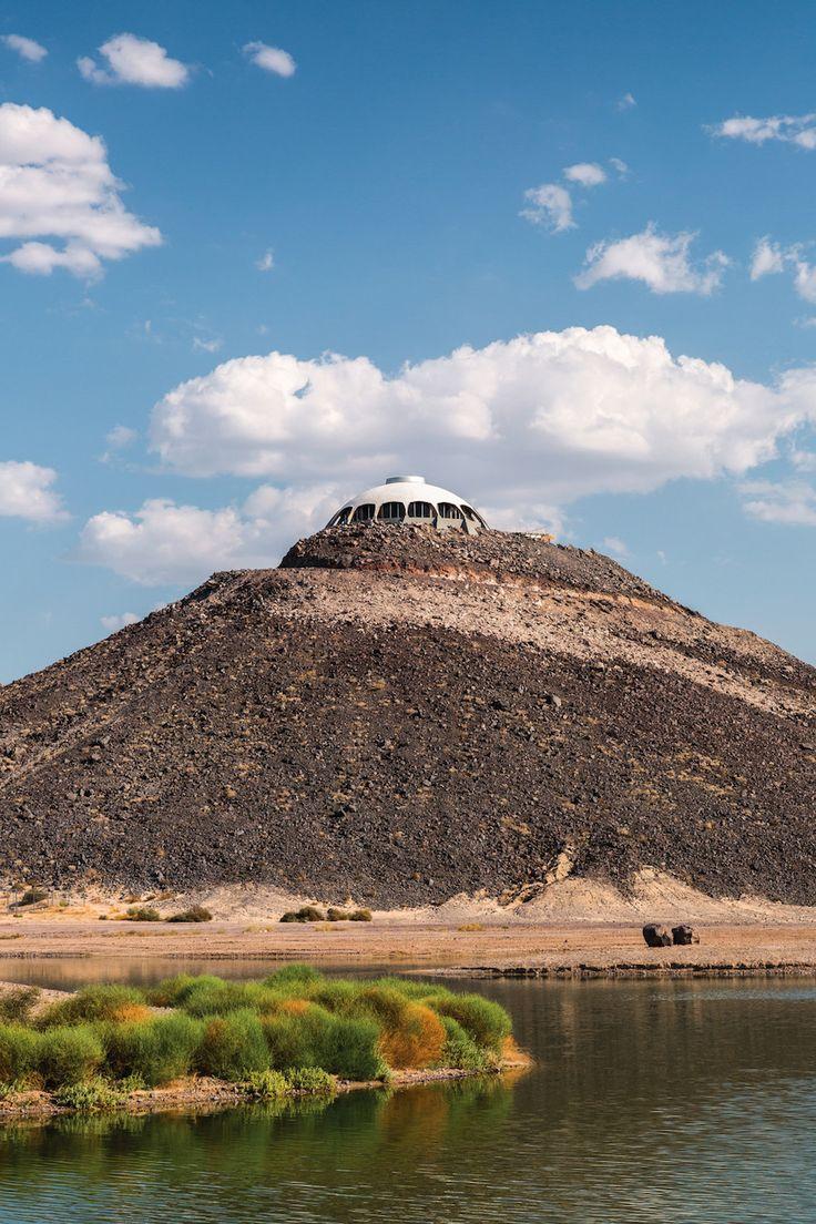 Three Active Volcanoes in California's Mojave Desert