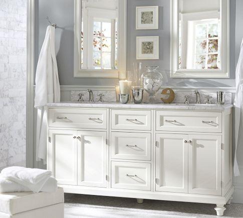 White Bathroom Mirror on Bathroom Mirror Frames   Bathroom Mirror   Crown Molding   Mirrors