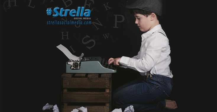 What we learned about writing in school is not the same as writing for the web. http://strellasocialmedia.com/2017/12/writing-web-means-new-rules/ #Strella