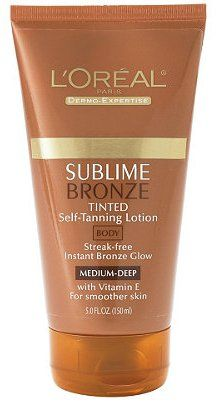L'Oréal Sublime Bronze Tinted Self-Tanning Lotion