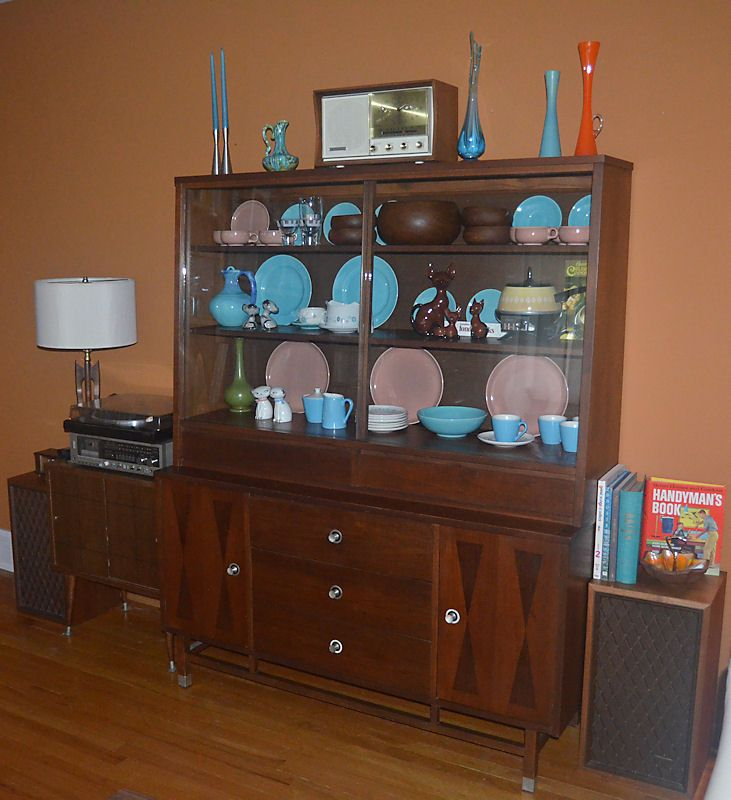 Stanley Distinctive Rosewood Inlay China Cabinet, $30, Craigslist. My Best  Find Thus Far