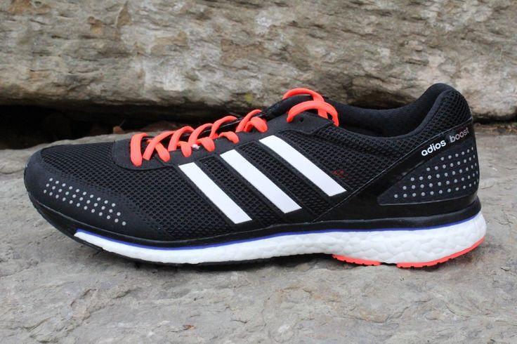 13 New Adidas Mens Adizero Adios Boost 3 Black Running Shoes AF5680 ULTRA 10.5
