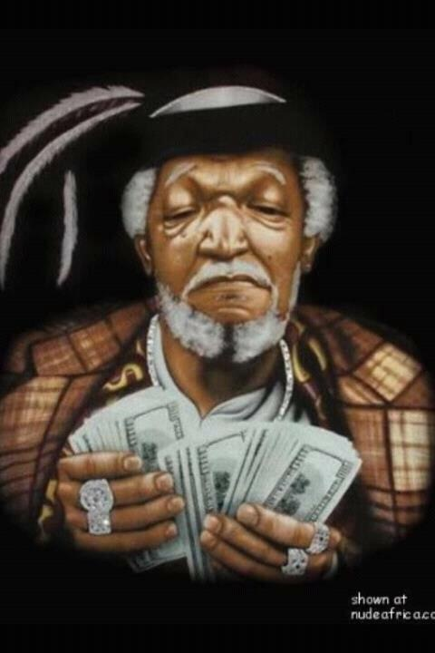 FRED G. SANFORd CARICATURE- Anthony Contorno Sr