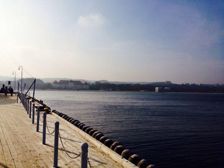 Sopot pier and beach #sopot