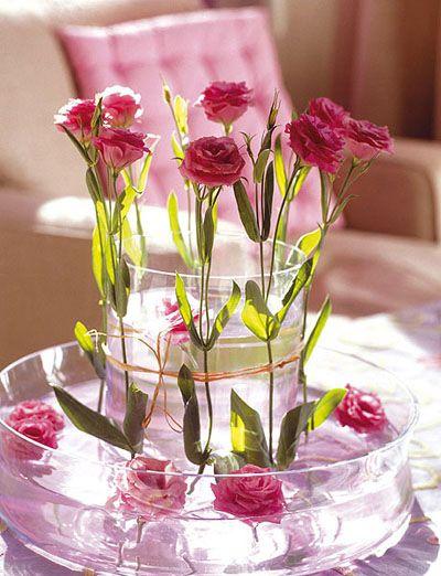 para decorar una boda son muy importantes los centros de mesa para ello existen algunos