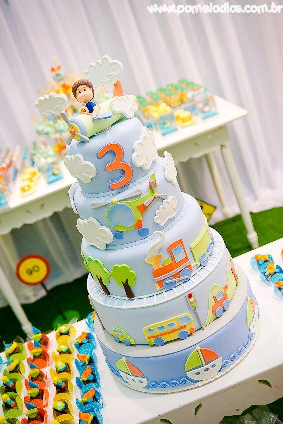 237 Best Kids Cakes Party Food Images On Pinterest Birthdays