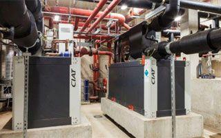 #CIAT instaló enfriadora de agua #DynaCIATPower para el tratamiento del aire del museo Picasso de París