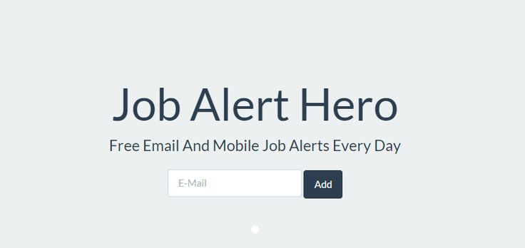 Job Alert Hero gives you free email and mobile alerts, daily on Accounting,Arts,Administrative,Advertising,Automotive,Banking,Biotech,College,Computer,Construction,Criminal Justice,Counselling,Training,Transcription,Travel,Travel nursing,Travelling,Trucking,Truck driver,University,Veterinary,Warehouse,Web Design Job Alert Hero - Job alerts in India http://jobalerthero.com/