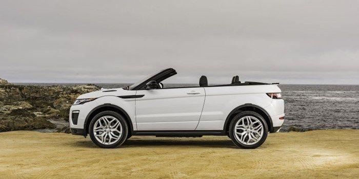 É uma Range Rover Evoque e, sim, ela é conversível e estará no Salão de SP - TecMundo