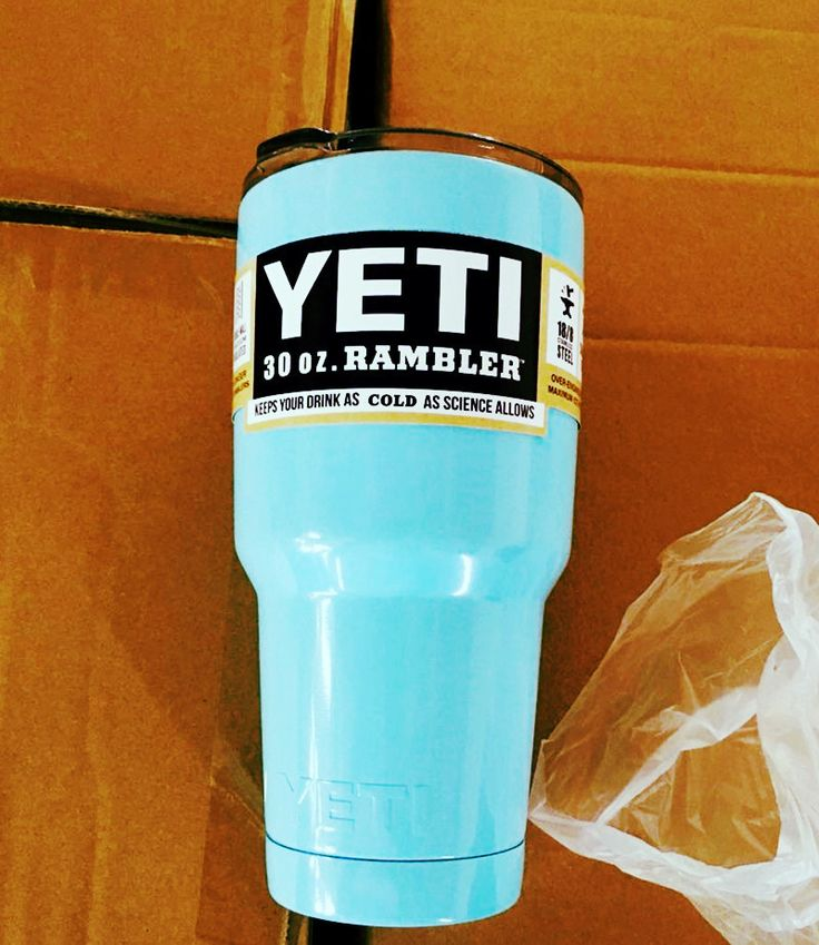 6 colors to Choose From - Powder Coated Yeti 30oz Double Wall Stainless Steel Cup Tumbler